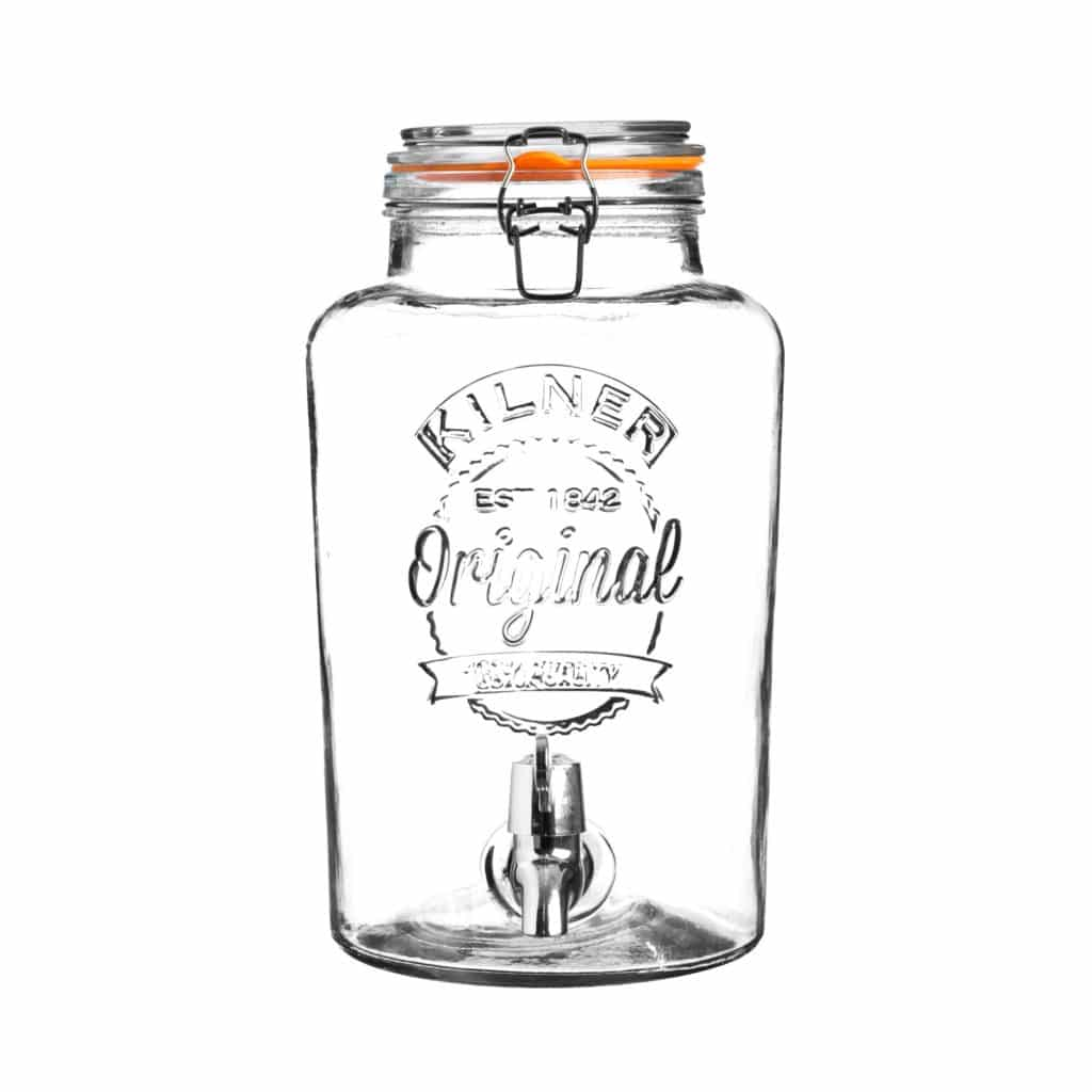 kilner glass dispenser jar 5 litres
