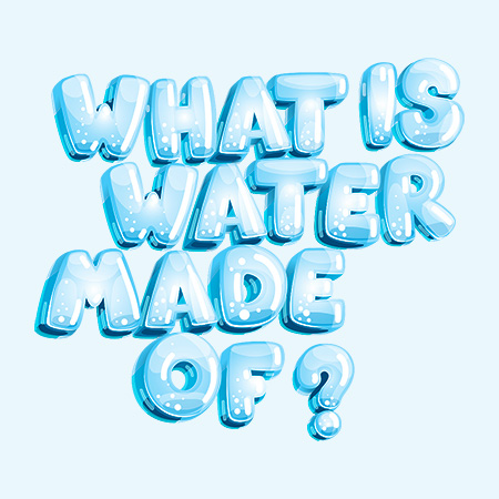 Water distillers blog - What is water made of?